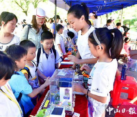 2万青少年学生直接参与,中山这个科普集市人山人海