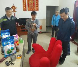 市科协组织党员志愿者到肇庆市庄源村开展春节节前慰问